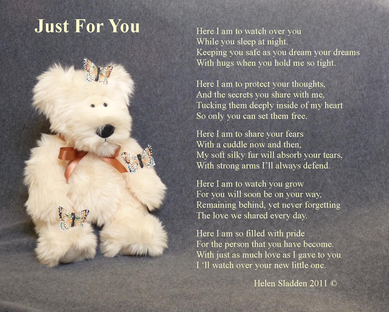 Bear and poem
